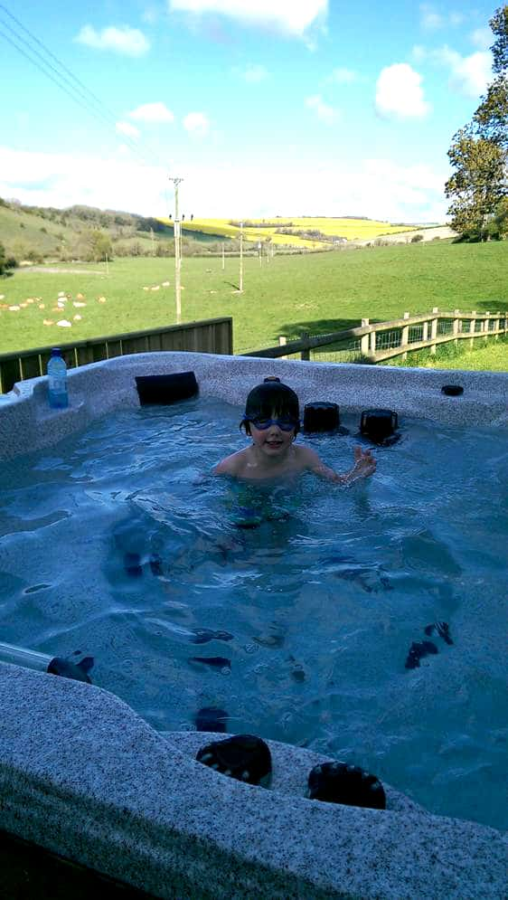 Hot tub Child