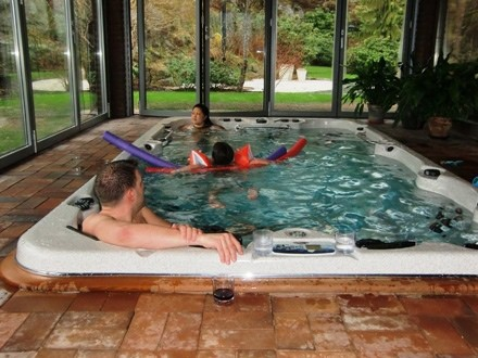 arctic spas hot tub swimspa family